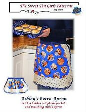 The Sweet Tea Girls Ashley's Retro Apron ( and child's apron) FREE US SHIPPING