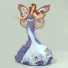 Spirited Strength Angel Enchanted Hope Lena Liu Figurine - Bradford Exchange