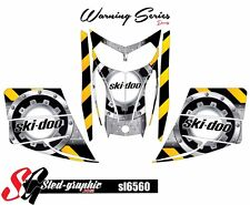 SLED WRAP DECAL STICKER GRAPHICS KIT FOR SKI-DOO REV MXZ SNOWMOBILE 03-07 SL6560