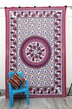 Indian Boho Hippie Gypsy Cotton Printed Bohemian Mandala Tapestry Wall Hanging