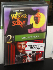From a Whisper to a Scream / Theatre of Blood (DVD) Vincent Price, Diana Rigg,