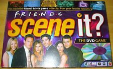 FRIENDS SCENE IT? DVD GAME 100% COMPLETE!  MINT CONDITION! REGULAR SHINY TOKENS