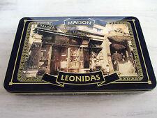 boite vide confiserie maison LEONIDAS, 1913-2013