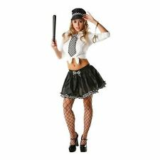 SEXY POLICEWOMAN LADY ADULT TUTU KIT FANCY DRESS  COSTUME HALLOWEEN FREE UK P+P