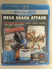 BluRay 2 Filme Sharknado & 2-Headed Shark Attack