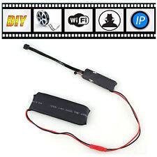 DIY Module Wifi IP Wireless Network Spy Hidden Security Remote Camera Cam DVR