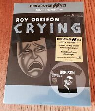Roy Obrison - Crying Cd Boxset & T Shirt Sealed Threads Grooves