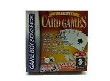 Ultimate Card Games for Game Boy Advance Cribbage, Canasta, Gin Rummy, Go Fish