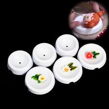 6pcs Blumen bildende Schalen DIY Kuchen Dekor trocknende Gummi Pasten Fondant