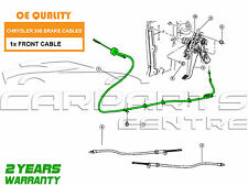 FOR CHRYSLER 300C 3.0 DT V6 05-08 NEW FRONT PARKING HANDBRAKE HAND BRAKE CABLE