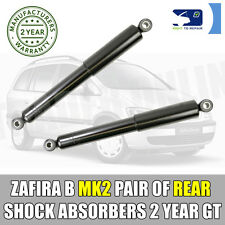 Vauxhall Zafira B Mk2 05-15 Rear Shock Absorbers X2 Pair Shockers Dampers Shocks