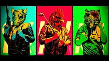 "Hotline Miami Game poster 43"" x 24"" Decor 03"