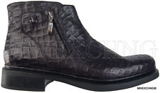 New Authentic $945 Cesare Paciotti US 11 Ankle Boots Italian Designer Shoes