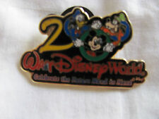 Disney Trading Pin 3: Celebrate The Future Hand in Hand 2000 Mickey Donald goofy