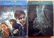 3122 // HARRY POTTER ET LES RELIQUES DE LA MORT 1ERE PARTIE + 2EME BLU RAY + DVD