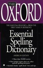 The Oxford Essential Spelling Dictionary-ExLibrary