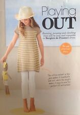 Knitting Pattern for Girls Dress. To fit 4-10 Years