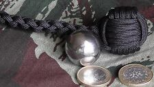 "Monkey'S Fist ø25mm Bille Acier STEEL BALL (""Self Defense""Survie"")"