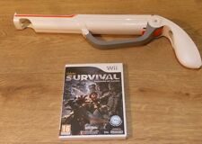 CABELAS SURVIVAL SHADOWS OF KATMI+ ZAPPER GUN/BLASTER/SHOT GUN=NINTENDO Wii