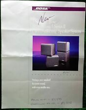 BOSE ACOUSTIMASS 5 SERIES II SPEAKER SYSTEM ORIGINAL BROCHURE Vintage Spec Sheet