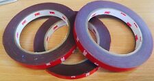 3M Genuine VHB Double-sided Acrylic Foam Adhesive Tape Automotive 12mm x 5m