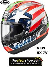 "NEW Arai RX-7V Nicky ""HAYDEN""Replica Motorcycle Race Helmet, L Large  59-60cm"
