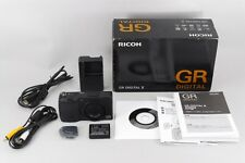 【Near MINT】  RICOH GR Digital II Digital Camera Box Manual Battery from Japan