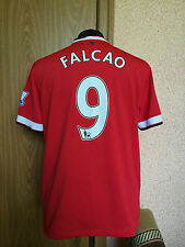 Manchester United ENGLAND 2014/2015 HOME FOOTBALL SHIRT JERSEY MAGLIA #9 FALCAO