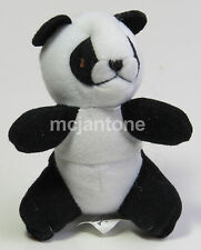 MIP McDonald's 1997 Animal Pals #1 PANDA BEAR Black White Sgl Toy Small PLUSH