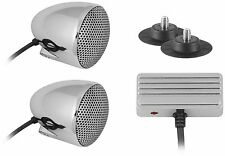 Cycle Sounds - 1102-0631 - Sport Bike Audio System with 2.5in Bullet Speakers~