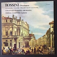 Rossini Overtures Schippers Cincinnati SO (1978 Vox/Turnabout QTV 34716 LP)