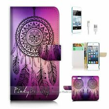 iPod Touch 6 iTouch 6 Flip Wallet Case Cover! P0420 Dream Catcher