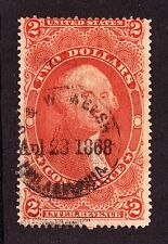 US R81c $2 Conveyance Used w/ Hand Stamp Cancel