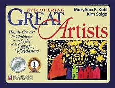 Bright Ideas for Learning (TM): Discovering Great Artists : Hands-On Art for...