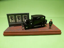 RIO FIAT BALILLA 1932 - DIORAMA DISPLAY - BLACK 1:43 - RARE - EXCELLENT