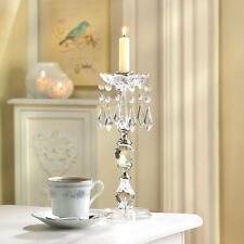 Crystals Candle Holder Stand NEW WEDDING Candleabra Table Centerpiece CLEARANCE