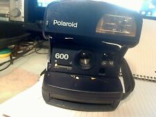 Polaroid Instant Camera Blue uses 600 film | Tested Working | MINT