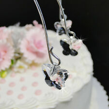 Crystal Butterfly Wedding Cake Top Jewelry – 6 Crystal Butterfly Drops