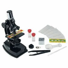 Elenco EDU-41004 Microscope Set 100X 300X 600X with LIGHT and PROJECTOR
