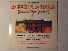LP La festa in casa vol. 1 BLACK BOX DJ H 2 BROTHERS ON THE 4TH FLOOR KLF