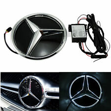 Sport Led Grille BlLED Logo Emblem Light For Mercedes Benz GLC GLE GLS