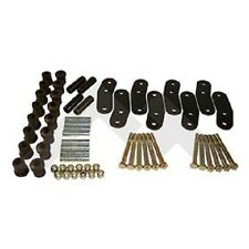 JEEP WRANGLER YJ 87-95 HEAVY DUTY 3/4 INCH LIFT GREASABLE SPRING SHACKLE SET 4