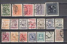 R5189 - AUSTRIA 1923 - LOTTO 19 DIFFERENTI - VEDI FOTO