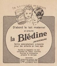 Z8433 Aliment pour enfants Blédine - Pubblicità d'epoca - 1935 Old advertising