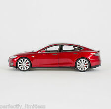 Tesla Motors 1:18 Scale Diecast P85 Model S Red Multi-Coat
