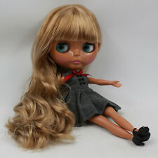 "Takara 12"" Neo Blythe Golden Hair Nude Doll from Factory TBY37"