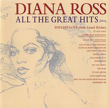DIANA ROSS - ALL THE GREAT HITS - CD