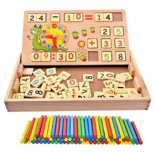 Children Learning Toys Math Games Counting Stick Block Education Tool Kids Gift