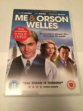 Me And Orson Welles (DVD, 2011) zac efron, claire danes, region 2 uk dvd