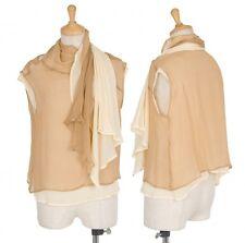 """""""SALE"""" Yohji Yamamoto FEMME Layered design silk pullover Size S(K-17682)"""